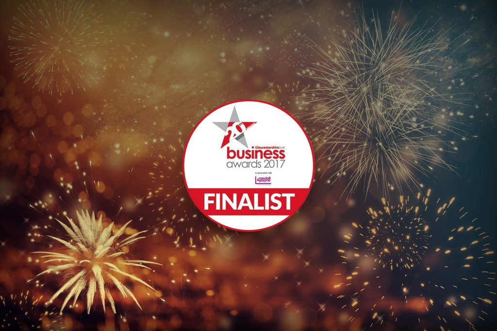 Finalist at the Gloucestershire Business Awards!